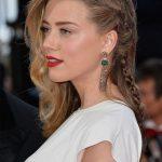 Örgü Saç Modelleri Saç Stillerinde Her Zaman Moda Amber Heard