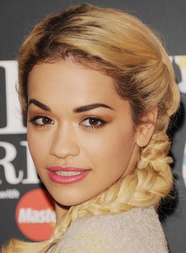 Örgü Saç Modelleri Saç Stillerinde Her Zaman Moda Rita Ora