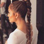 Örgü Saç Modelleri Saç Stillerinde Her Zaman Moda Jennifer Lopez