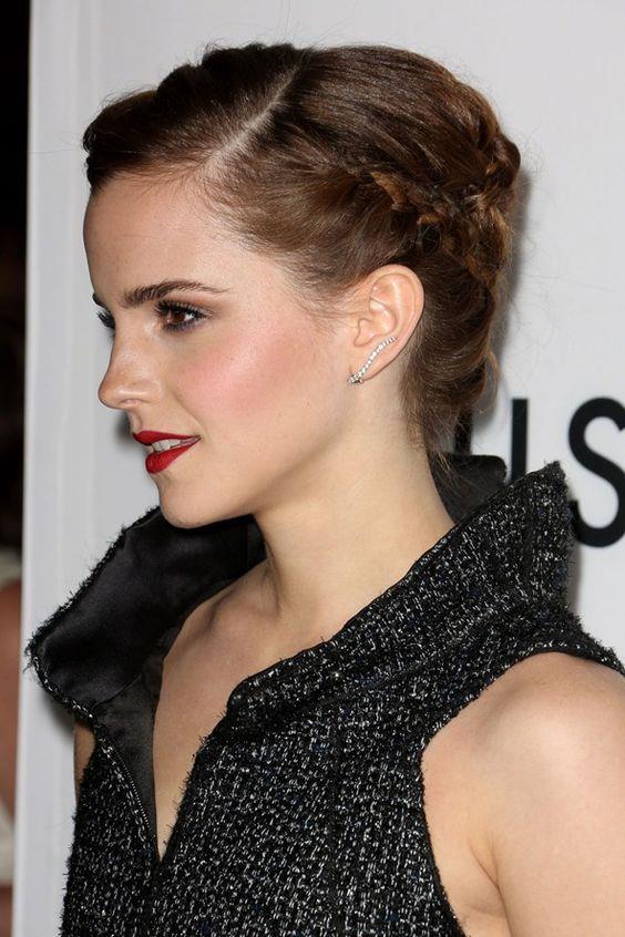 Örgü Saç Modelleri Saç Stillerinde Her Zaman Moda Emma Watson