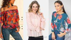 2019 Şifon Bluz Modelleri İle En Şık Kombinler Sizde Olacak