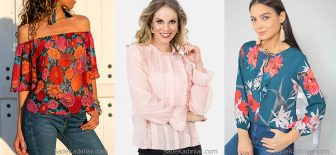 2018 Şifon Bluz Modelleri Şık ve Gösterişli Yazlık Kıyafetler