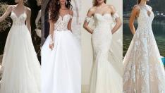 2018 Gelinlik Modelleri; Yaz Düğünleri İçin Şık Tasarımlar