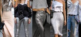 Yaz Modası Metalik Kıyafet Kombinleri İle Yeni Bir Trend Yakaladı
