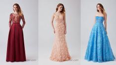 2019 Abiye Elbise Modelleri Oleg Cassini'den Şık Gece Elbiseleri