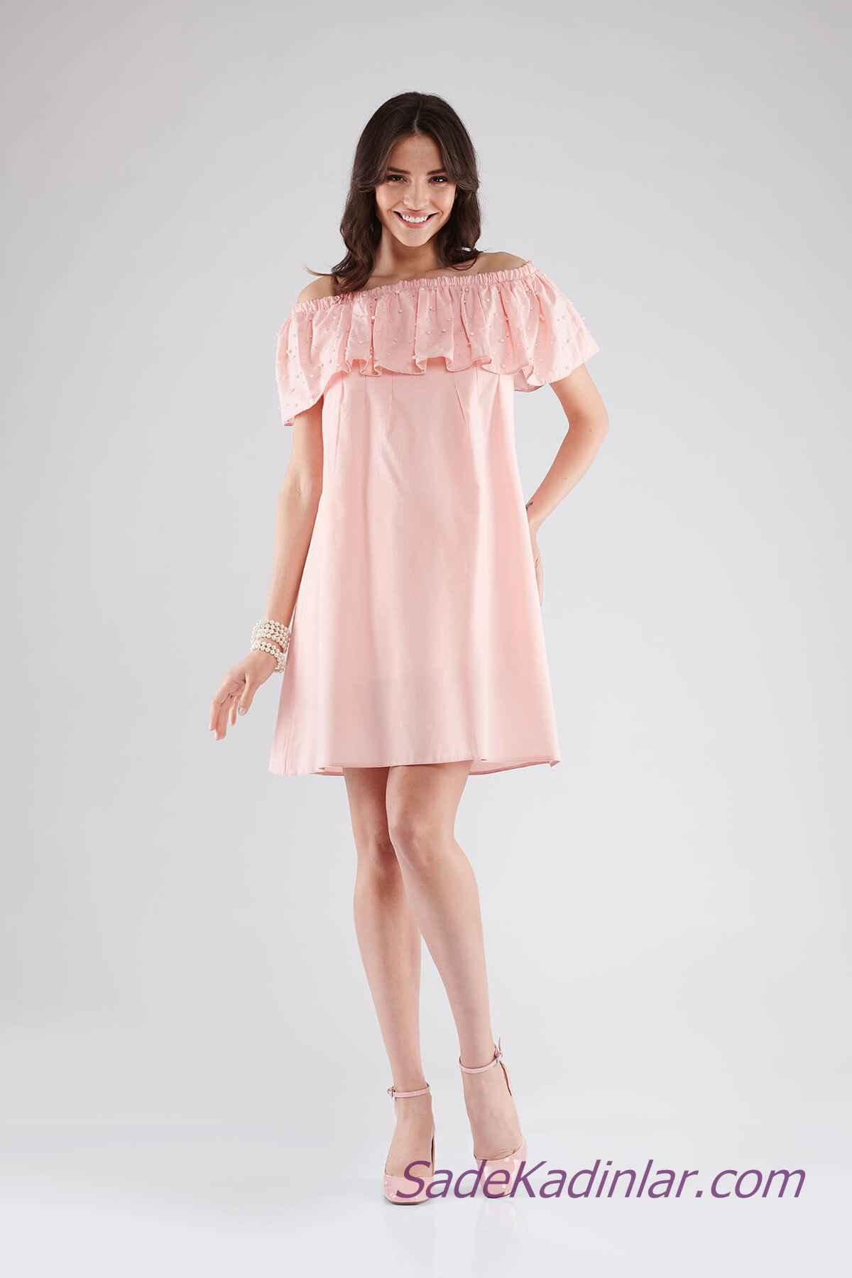 Trend Hamile Abiye Elbise Modelleri