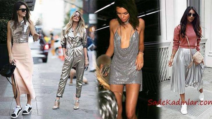 8d6c9bbb0ddce 2019 Yaz Modası Muhteşem Metalik Kıyafet Kombinleri | SadeKadınlar ...