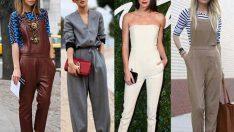Şık Tulum Modelleri İle 2018 Sokak Stili Kıyafet Fikirleri