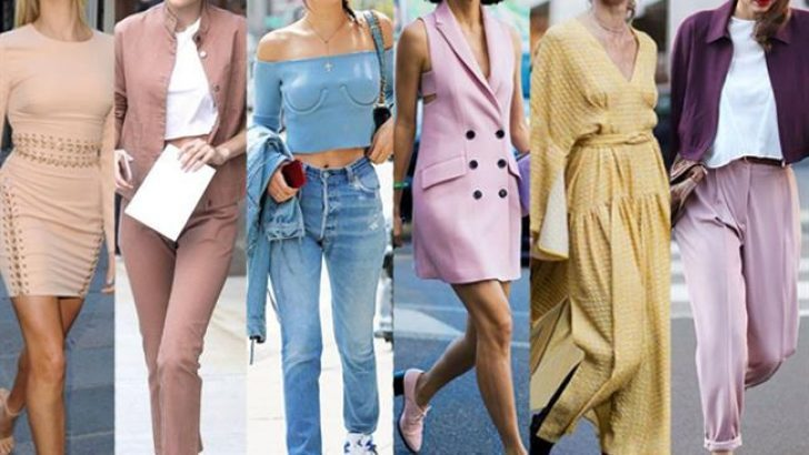 2018 Moda Renkleri Pastel Renkler İle Yaz Modasına Yön Veriyor