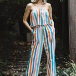 2019 Bayan Tulum Modelleri Renkli Straplez Katlamalı Yaka Cepli
