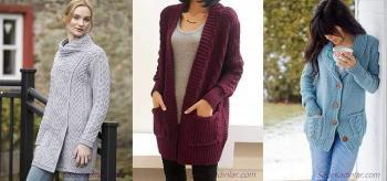 2019 Yün Hırka Modelleri İle Kış Modasının Nabzını Tutun!