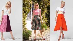 2018 Dizaltı Etek Kadın Şıklığının Anahtarı En Güzel Etek Modelleri