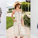 2020 Günlük Keten Elbise Modelleri İle Şıklığı Yakalayın