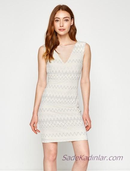 62048b2ca51f9 İşte bizde sizler için son moda birbirinden şık koton beyaz elbise  modellerini hazırladık…