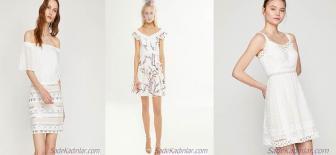 Koton Beyaz Elbise Modelleri İle Baş Döndürücü Bir Şıklığa Sahip Olun!