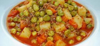Sebze Yemeklerinin En Lezzetlisi Bezelye Yemeği Tarifi