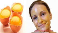 Yumurta Maskesi Kırışıklık Giderici Doğal Maske Tarifi