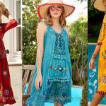 Şık Bohem Elbise Modelleri ve Otantik Tarz Kıyafetler