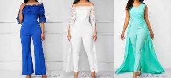 Ünlü Modacıların En Trend 2019 Abiye Tulum Modelleri