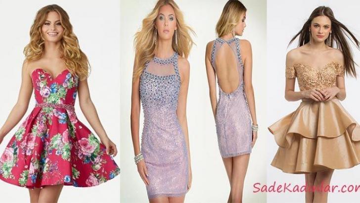 En Özel Akşamlar İçin En Güzel Mini Elbise Modelleri