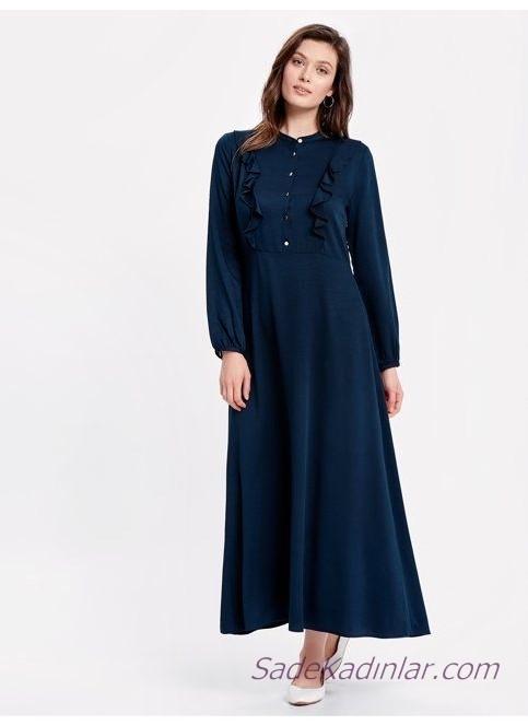 Rahat ve Şık 2021 Günlük Uzun Elbise Modelleri