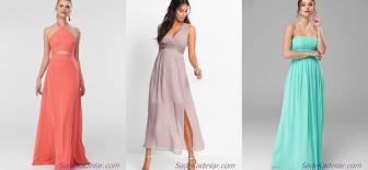 2019 Şifon Abiye Elbise ve En Şık Uzun Abiye Modelleri