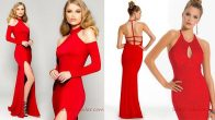 Kırmızı Abiye Elbise Modelleri Romantik Akşamların Vazgeçilmezi