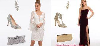 Davetler İçin En Moda ve Tarz Kadın Elbise Kombin Önerileri