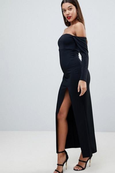 En Tarz Güzel 2019 Siyah Abiye Elbise Modelleri