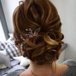 Düğün ve Nişan İçin Abiye Topuz Saç Modelleri