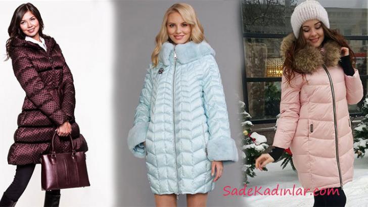 Kış Ayının Vazgeçilmez Parçası 2019 Bayan Mont Modelleri