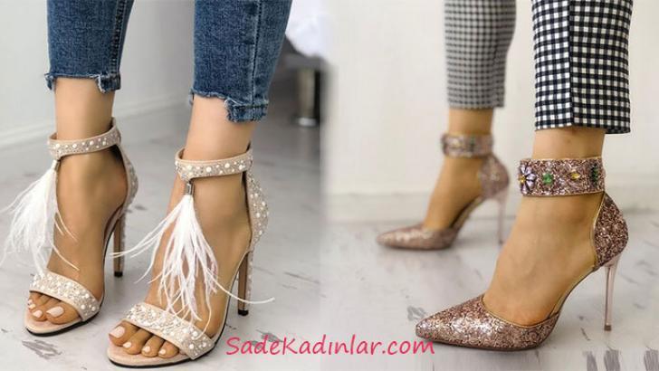 Yüksek Topuklu Ayakkabı Modelleri İle Şık Adımlar