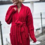 2022 Kış Modasının En Beğenilen Örgü Hırka Kombinleri