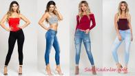 Sokak Modası Trendleri Skinny Kot Pantolon Kombinleri