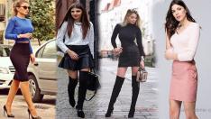 15 Etek Bluz Kombinleri İle Sokak Modası Stil Önerileri 2019