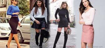 15 Etek Bluz Kombinleri İle Sokak Modası Stil Önerileri