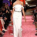 2019 Moda Trendleri Beyaz Straplez Düşük Askı Kemerli Bol Pantolon Tulum