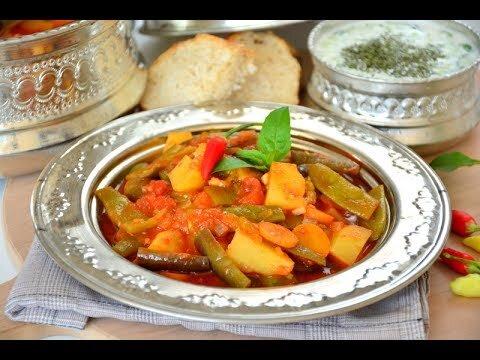 Mevsim Sebzeleri İle Hafif ve Sağlıklı Yaz Türlüsü Tarifi