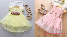 Sevimli ve Şirin Kız Çocuk Elbise Modelleri