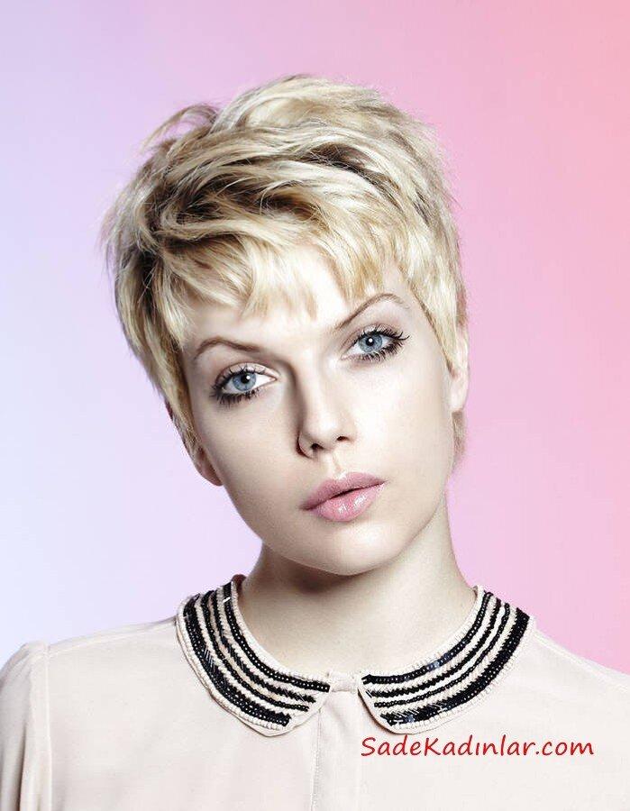 2021 Kısa Bayan Saç Kesim Modelleri
