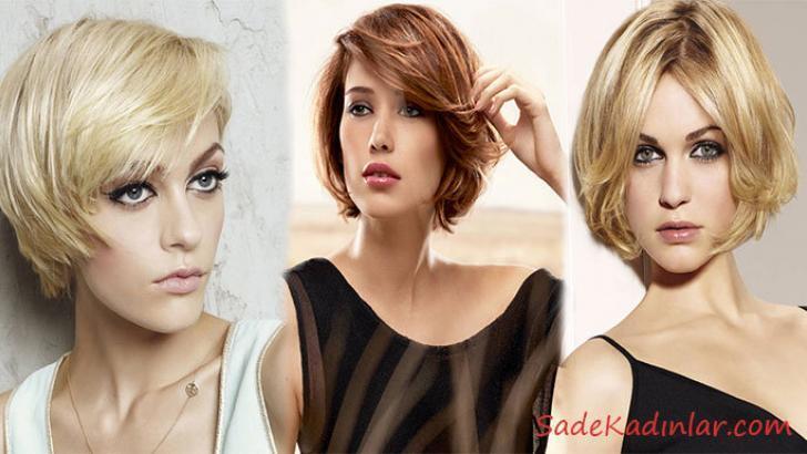 2019 Kısa Saç Kesimleri ile Yüz Güzelliğinizi Ortaya Çıkartın