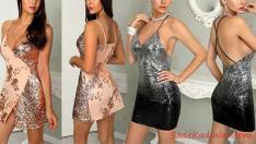 2019 Payetli Elbise Modelleri Herkesin Gözünü Kamaştıracak