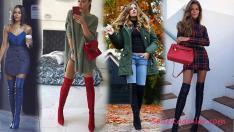 2019 Uzun Çizme Kombinleri Kış Soğuklarının En Şık Hali