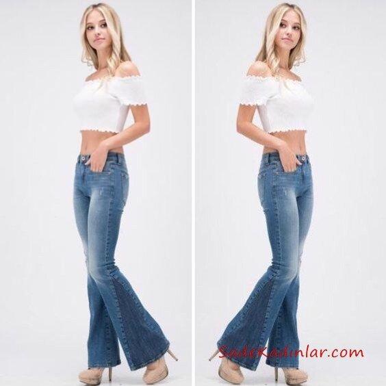 2019-2019 İlkbahar Yaz Bebek Mavisi Elbise Modelleri ve Kombinleri