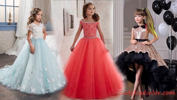 Çocuk Abiye Modelleri Masalsı Renkleri İle Göz Kamaştırıyor