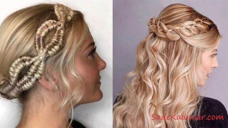 Örgü Saç Modelleri İle Güzelliğin Kapılarını Aralayın