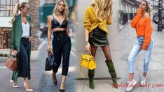 2019 Sokak Modasının Şık Kombinleri İle Tarzını Oluşturun