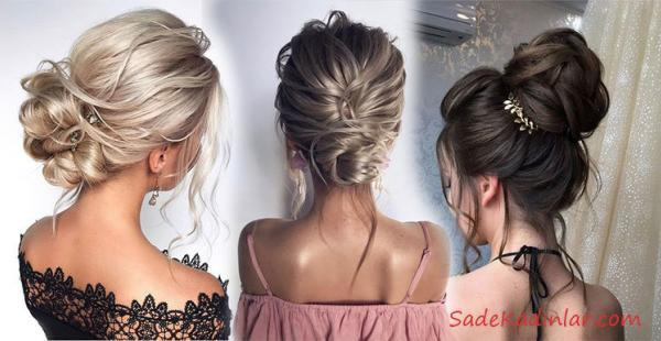 Dağınık Topuz Saç Modelleri İle Gecenin Yıldızı Siz Olun