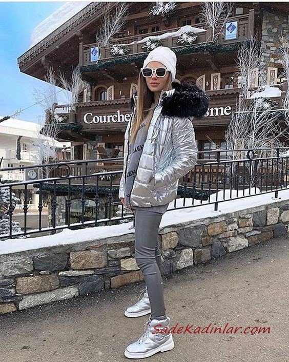 2019 Gri Pantolon Kombinleri Gri Pantolon Gri Kazak Gri Şişme Mont Gri Spor Bot