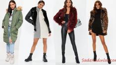 2019 Kış Kombinleri Tarz Kadınlar İçin Sokak Modası